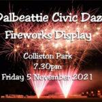 Dalbeattie Fireworks Display 05/11/21